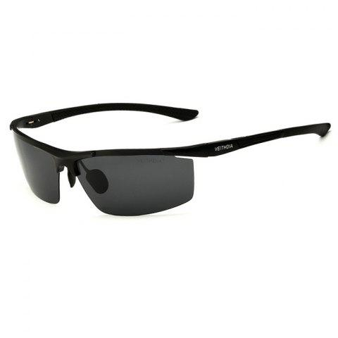 Online VEITHDIA 6588 UV400 Polarized Sunglasses with PC Lens / Colorful Coating -   Mobile