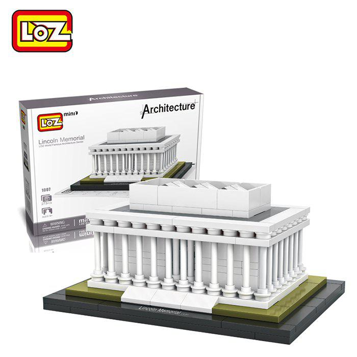 Hot LOZ ABS Architecture Building Block Educational Movie Product Kid Toy - 273pcs