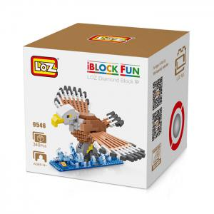 LOZ Eagle Style Building Block ABS Educational Movie Product Kid Toy - 340pcs -