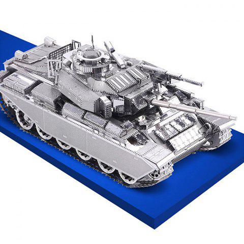 Affordable ZOYO Tank Shape 3D Metallic Building Puzzle Educational Assembling Toy -   Mobile