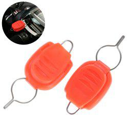 2pcs Fishing Line Stopper Holder for Baitcasting Reel - RED