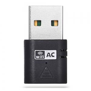 UNT-W01 5GHz / 2.4GHz Wireless Dual Band Mini USB Adapter Network WiFi Dongle -