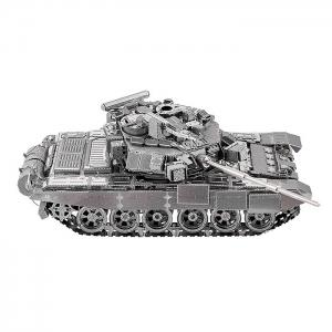 ZOYO Tank Style 3D Metallic Building Puzzle Educational Assembling Toy - SILVER