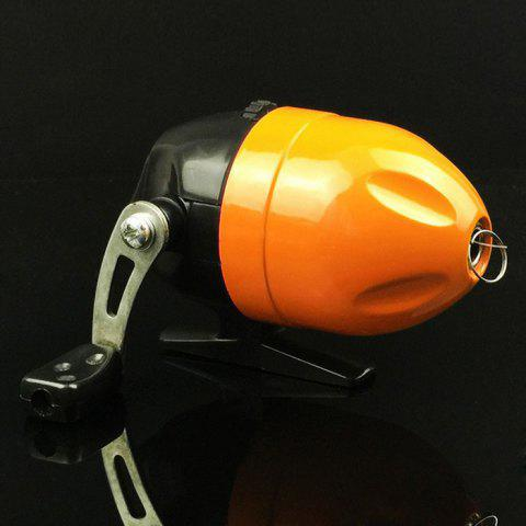 Outfit Fish Tackle Closed Face Spinning Fishing Reel with Line ORANGE