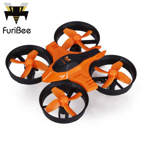 Buy FuriBee F36 Mini 2.4GHz 4CH 6 Axis Gyro RC Quadcopter Headless Mode / Speed Switch - Orange