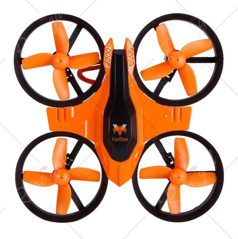 Fashion FuriBee F36 Mini 2.4GHz 4CH 6 Axis Gyro RC Quadcopter with Headless Mode / Speed Switch -   Mobile