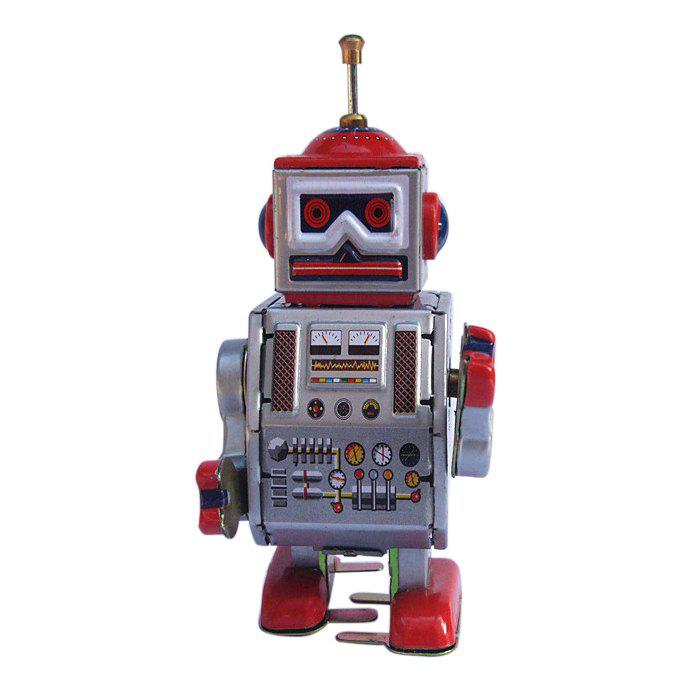 Sale Classical Robot Design Clockwork Tin Toy Intelligent Present for Kid
