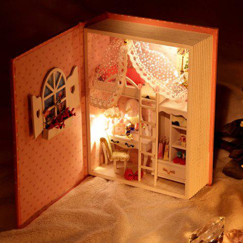 Hot Doll House Design DIY Miniature Box Diary Idea Art Handicraft Gift - COLORMIX  Mobile