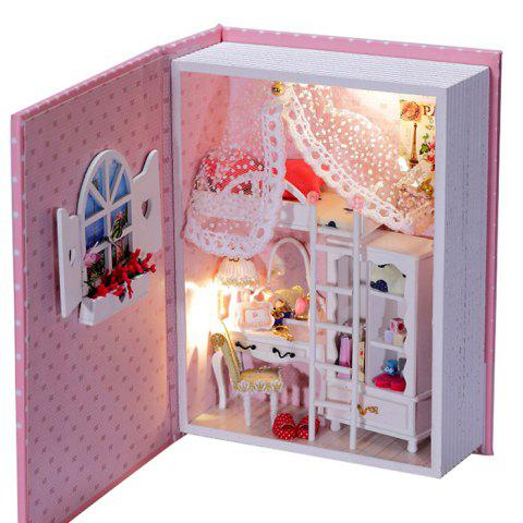 Fashion Doll House Design DIY Miniature Box Diary Idea Art Handicraft Gift - COLORMIX  Mobile