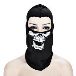 Masque de crâne de vélo en plein air CS Game Face Guard Equitation Headgear -