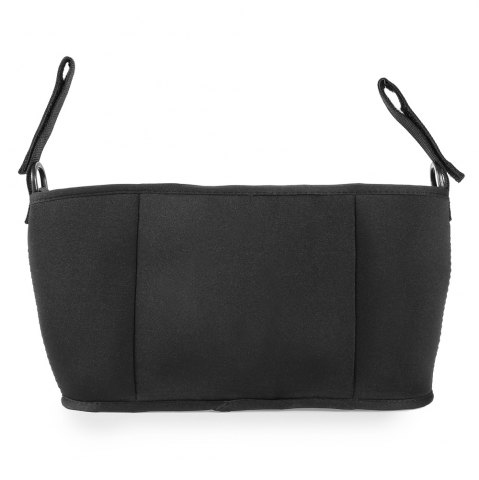 Shops Chloroprene Rubber Baby Carriage Bag with Detachable Mobile Phone Pouch - BLACK  Mobile