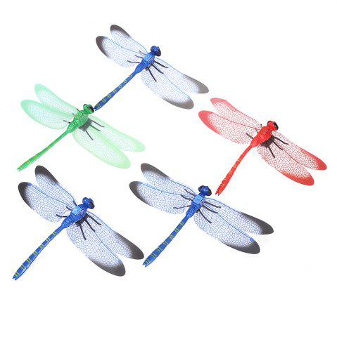 Online Mini Dragonfly Fridge Magnet Cute Rubber Animal Toy Novelty Curiously Awesome Gift - 5pcs / set