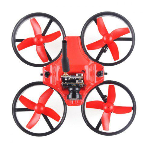 Trendy Makerfire MICRO FPV 64mm Mini RC Racing Drone BNF 5.8G 520TVL 2.4GHz 6-axis Gyro with F3 EVO FC Ducted Fan -   Mobile