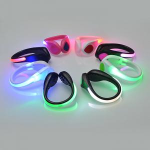 LED Flashing Shoe Clip for Dance Party Trick Toy Christmas Birthday Gift - 1pc -
