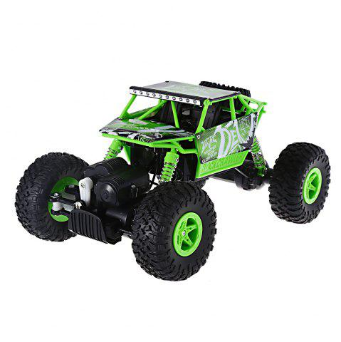 Chic JJRC Q22 1 / 18 Scale 2.4G 4 Wheel Drive Racing Car 2.4G High Speed Model Toy - GREEN  Mobile