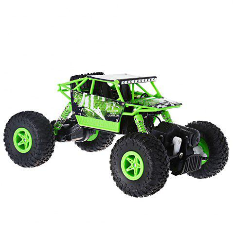 Latest JJRC Q22 1 / 18 Scale 2.4G 4 Wheel Drive Racing Car 2.4G High Speed Model Toy - GREEN  Mobile