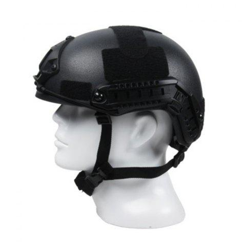Shop Lightweight Crashworthy Protective Helmet for CS Airsoft Paintball Game - BLACK  Mobile