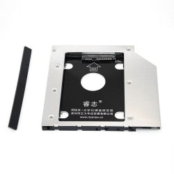 Reamax Iron Man HDD Caddy Tray SATA 3.0 Case Work with 9.5mm Notebook -