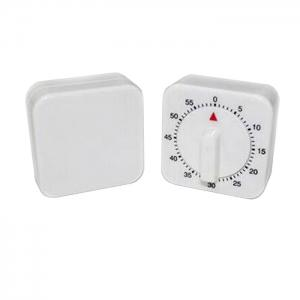 60 Minutes Cooking Count Down Timer Reminder Kitchen Timing Device - WHITE/BLACK
