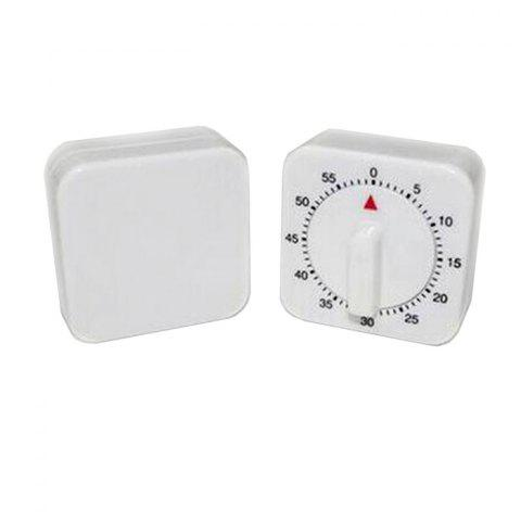 New 60 Minutes Cooking Count Down Timer Reminder Kitchen Timing Device - WHITE AND BLACK  Mobile