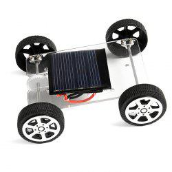 PXWG DIY Plastic Vehicle Style Green Energy Solar Power Energy-saving Toy -