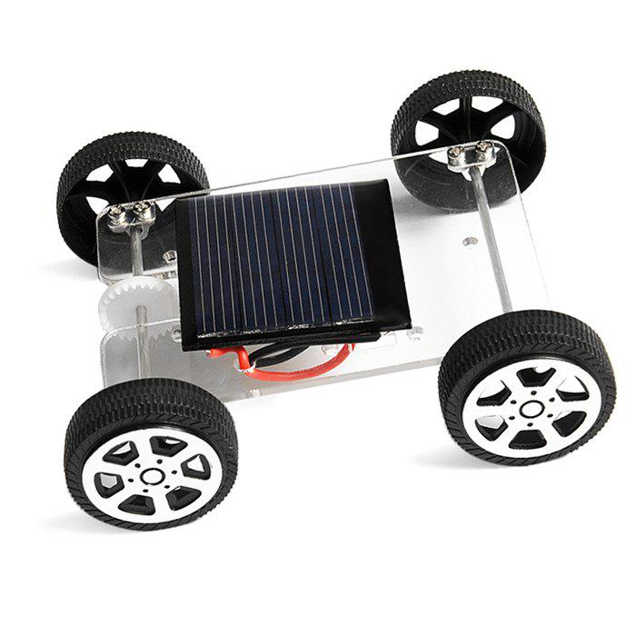 Fashion PXWG DIY Plastic Vehicle Style Green Energy Solar Power Energy-saving Toy