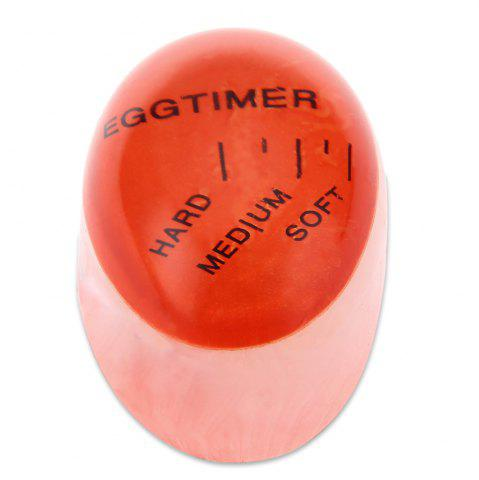New Creative Magic Color Changing Egg Timer Cook Thermometer Kitchen Gadgets - RED  Mobile