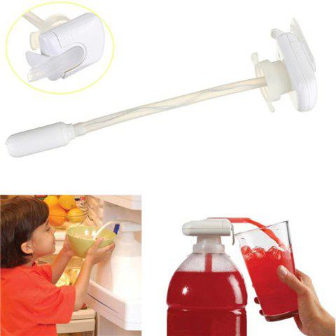 Affordable Automatic Electric Beverage Dispenser Drink Separator - WHITE  Mobile