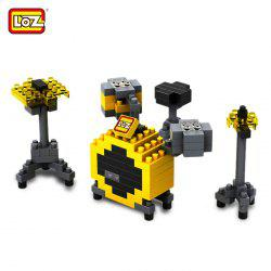 LOZ M - 9188 Ensemble de batterie Mini Building Block Intelligent Toy 140Pcs / Set - Multicolore