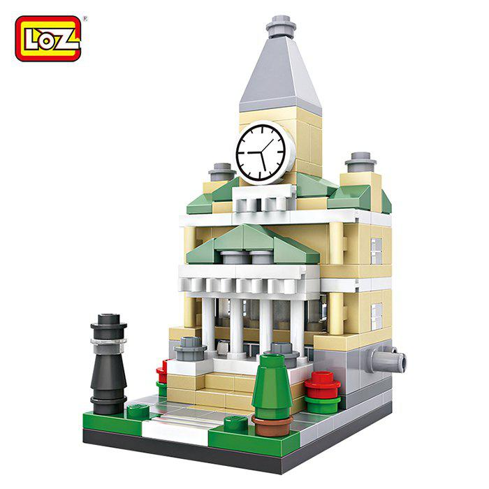 Shop LOZ ABS Street View Architecture Building Block Educational Movie Product Kid Toy - 159pcs