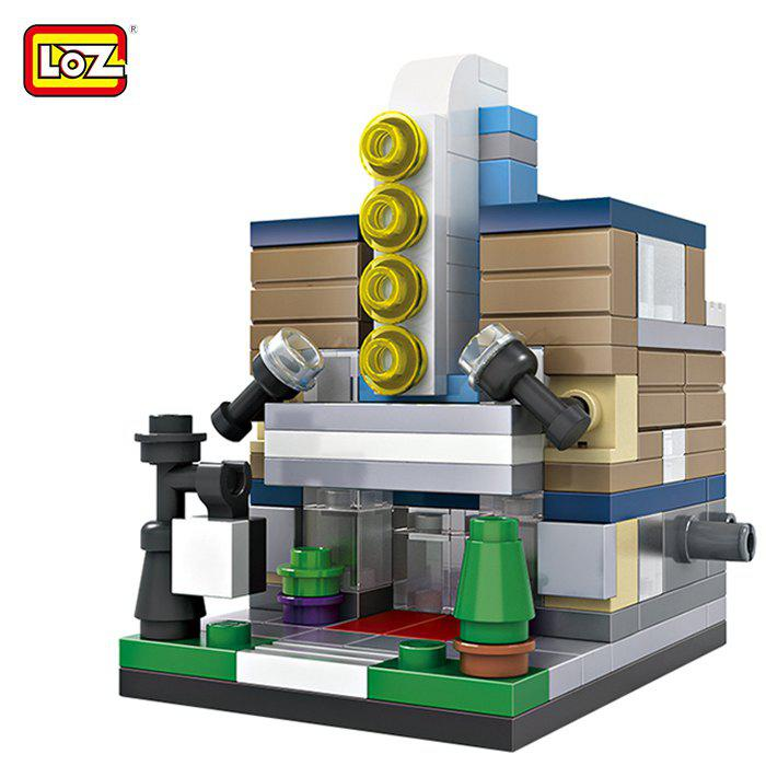 Chic LOZ ABS Theater Architecture Building Block Educational Movie Product Kid Toy - 146pcs
