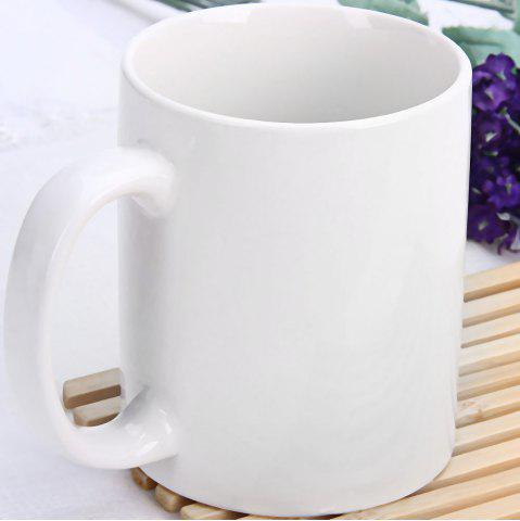 Buy Up Yours Mug Middle Finger Mug with Ceramic Material - WHITE  Mobile