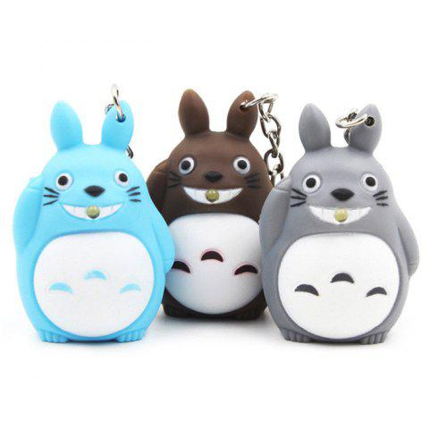New 1pc Key Chain Hanging Pendant ABS Movie Product Voice Light Control Bag Decoration