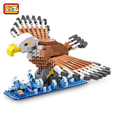 Sale LOZ Eagle Style Building Block ABS Educational Movie Product Kid Toy - 340pcs