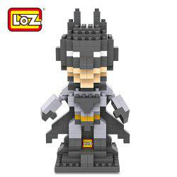 LOZ 250Pcs L - 9457 Superhero Batman Building Block Educational Toy Christmas Present -