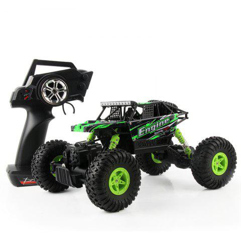 Affordable WLtoys 18428 - B 1:18 4WD RC Climbing Car 2.4GHz 4CH 9km/h Proportional Controlled All Terrain Vehicle - GREEN  Mobile