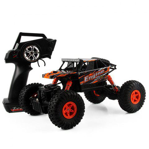 Fancy WLtoys 18428 - B 1:18 4WD RC Climbing Car 2.4GHz 4CH 9km/h Proportional Controlled All Terrain Vehicle - ORANGE  Mobile