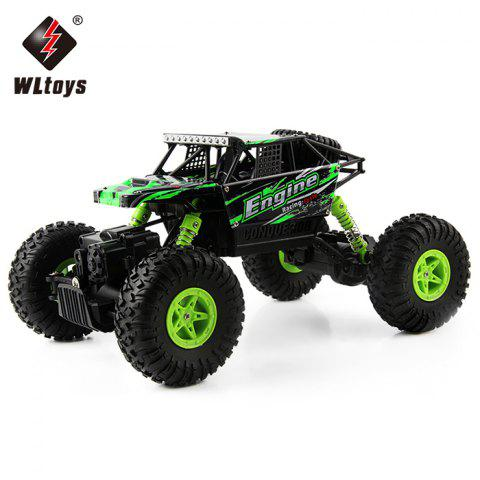 Chic WLtoys 18428 - B 1:18 4WD RC Climbing Car 2.4GHz 4CH 9km/h Proportional Controlled All Terrain Vehicle