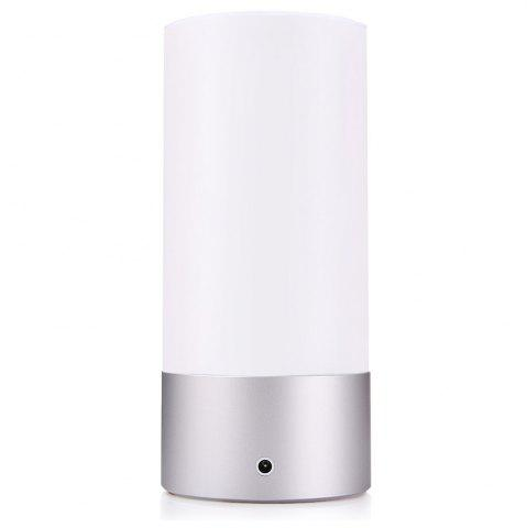 Fashion Xiaomi Yeelight Bedside Lamp Night Light OSRAM LED RGBW Touch Control CCT Brightness -   Mobile