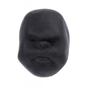 Caomaru Vent Human Face Ball Anti-stress Ball of Japanese Design - BLACK