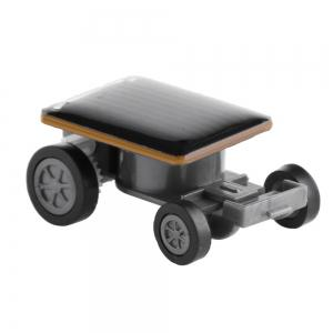 World's Smallest Solar Powered Mini Car Coin Size -