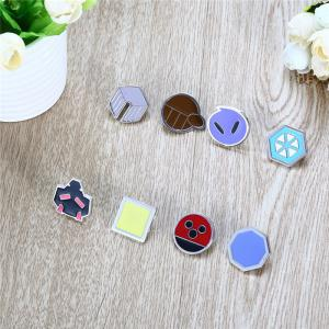 Alloy Badge Movie Product Children Gift Decoration - 8pcs / set - COLORMIX STYLE C