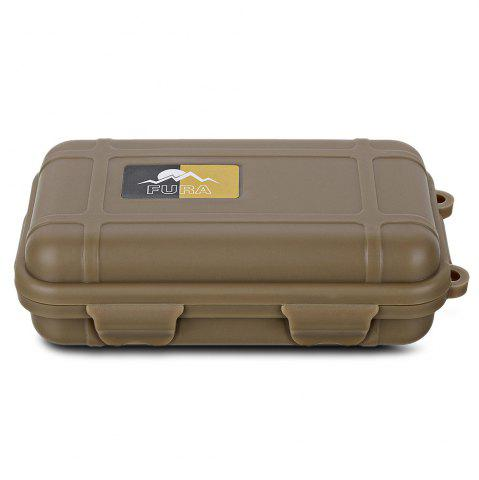 Shop FURA Small Water Resistant Sealed Storage Case Box Anti-shock Camping Gear - KHAKI  Mobile