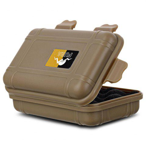 New FURA Small Water Resistant Sealed Storage Case Box Anti-shock Camping Gear - KHAKI  Mobile