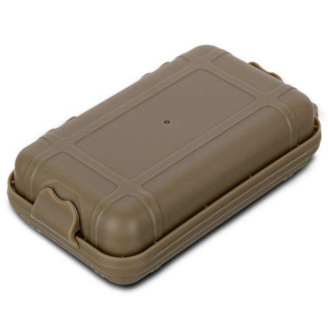 Store FURA Small Water Resistant Sealed Storage Case Box Anti-shock Camping Gear - KHAKI  Mobile