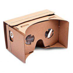 DIY Google Paperboard Mobile Phone 3D Glasses Virtual Reality for iPhone Samsung Google Nexus 6 -