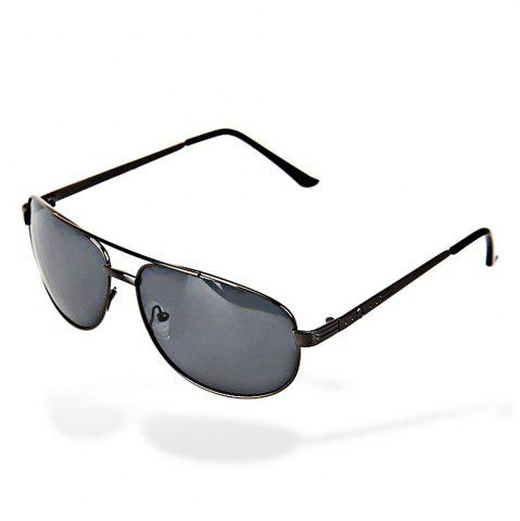 Latest Valentine Metal Frame UV Protection Men Driving Sunglasses with Gray TAC Polarized Lens