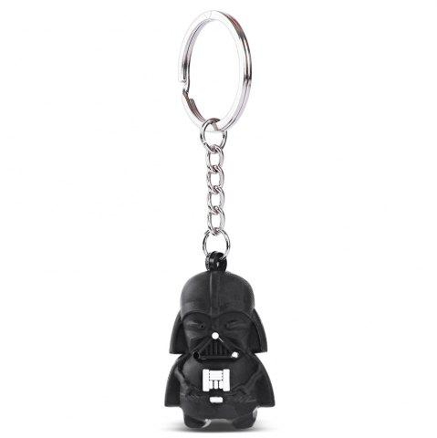 White Soldier Mini Key Ring