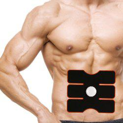 Muscle Training Gear Smart Sculpting Exercise Tool with One Key Operation - BLACK
