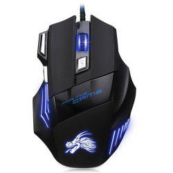 X3 USB Wired Optical Gaming Mouse Game Mice -